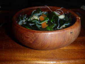 wakame chicken noodle soup