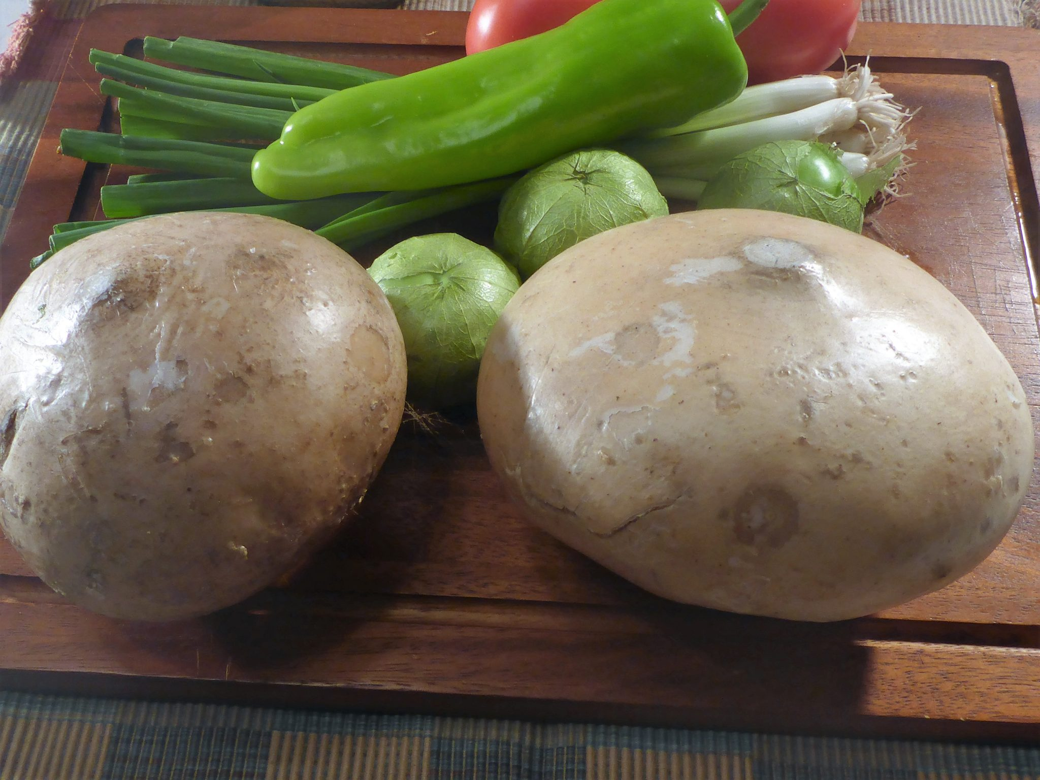 ingredients for jicama salsa
