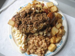 Picture of a Garbage Plate